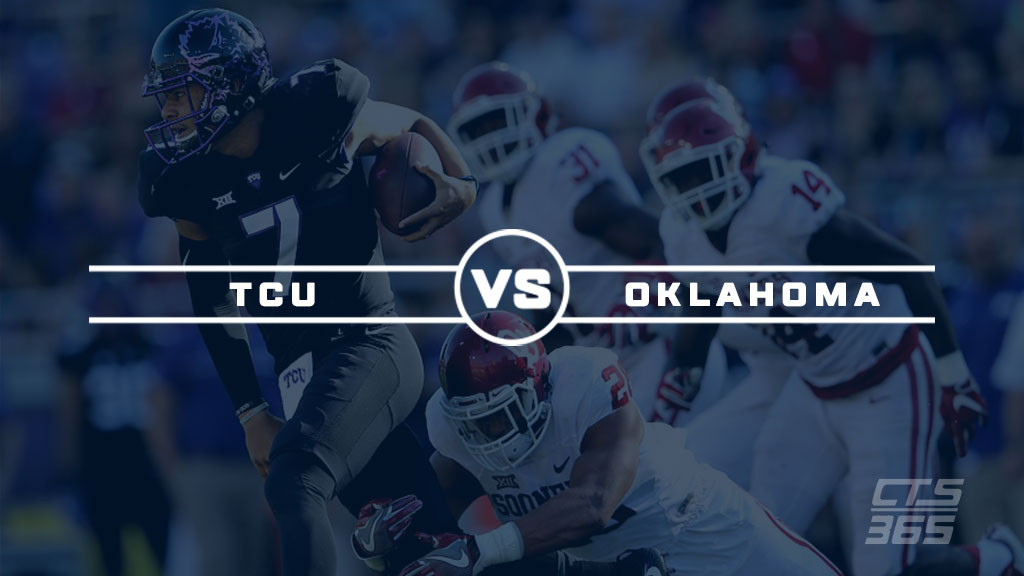 TCU Horned Frogs vs Oklahoma Sooners 12-02-2017 College Football Picks, Odds and Prediction
