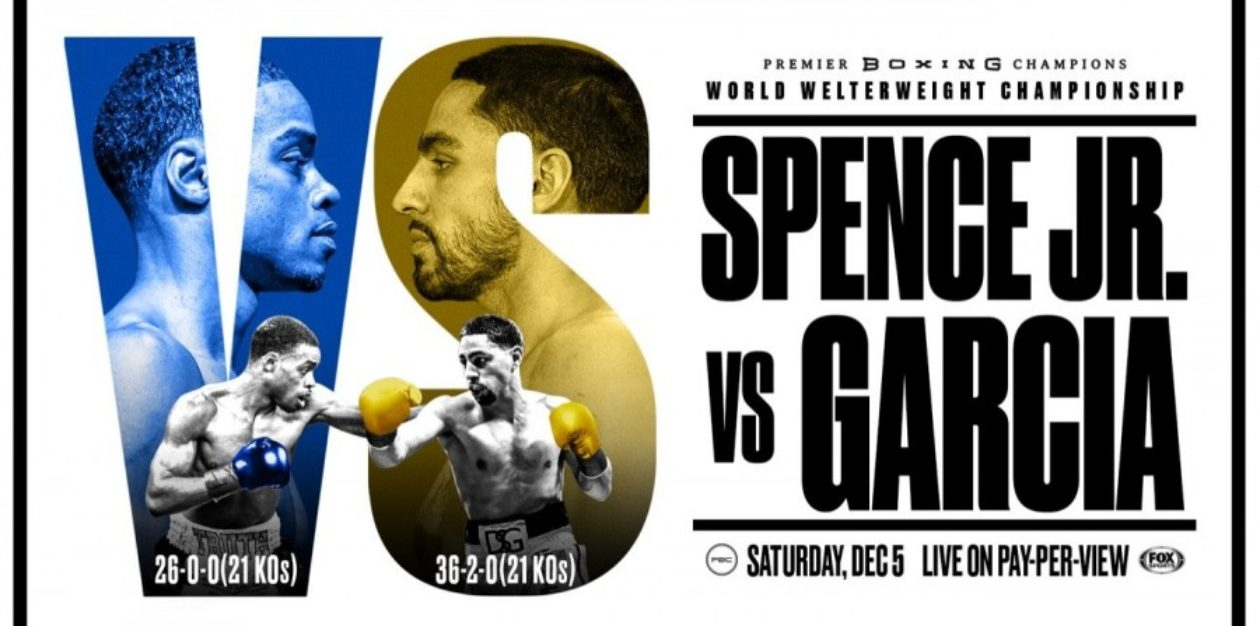 Welterweight World Title Fight: Errol Spence Jr. vs. Danny Garcia
